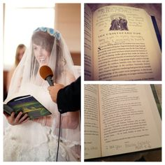 I'm not sure whether to post this on Harry Potter or my dream wedding...<3