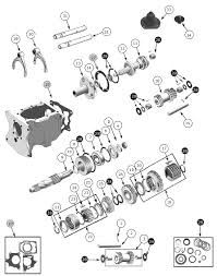 Transfer Case Dana Spicer 18 Exploded View Diagram Willys