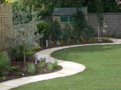 Pathways are much more than a means of linking areas but potentially a key design element. Garden Paving, Garden Paths, Garden Landscaping, Landscaping Design, Landscape Plans, Garden Landscape Design, Backyard Walkway, Garden Projects, Garden Ideas