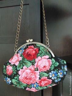 """Сумка """"Розы"""" - сумочка,сумочка через плечо,сумочка вечерняя,театральная сумочка"""
