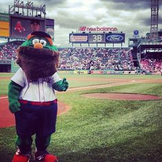 Red Sox... Even Wally has a beard :)
