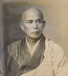 Soyen Shaku Roshi (1860–1919), first known Zen Buddhist master to teach in the continental  United States, made extended teaching visits to San Francisco, & often meditated on Mt Tam.
