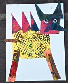 Eric Carle Inspired Mixed Up Creatures