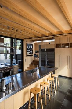 Boatsheds by Strachan Group Architects & Rachael Rush | HomeDSGN
