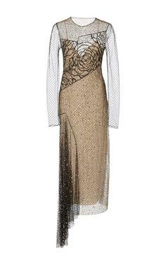 Crystal Embellished Point D'Spirit Dress by JASON WU for Preorder on Moda Operandi
