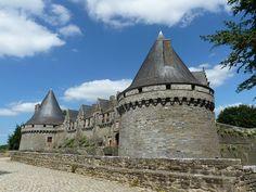 Château de Pontivy, Morbihan, France
