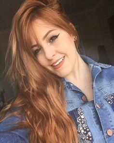 Pin by Fady Raoof on pretty in 2018 Honey Hair, Pinterest Hair, Auburn Hair, Red Hair Color, Hair Photo, Hair Dos, Gorgeous Hair, Dyed Hair, Redheads