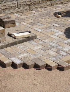 DIY How To Lay a Level Brick Paver Patio. Laying a brick paver patio in your backyard is a low maintenance and beautiful way to create an al fresco...