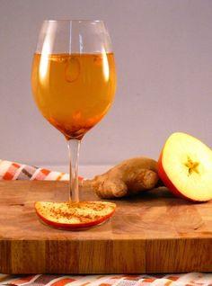 Verkoudheidsthee met appelciderazijn, kaneel en gember (via Bloglovin.com )