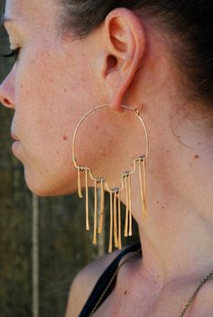 Earrings.
