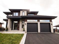 Modern Exterior House Designs, Dream House Exterior, Dream House Plans, Modern House Plans, Modern House Design, Exterior Design, Contemporary Home Exteriors, Bungalow House Design, House Front Design