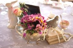The Silver Tea Spoon A Vintage Affair Vintage Tea, Affair, Tea Party, Stuff To Do, Table Decorations, Flowers, Silver, Blog, Style