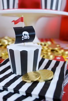 Pirate Ahoy Birthday Party Theme | From Papereskimo.com