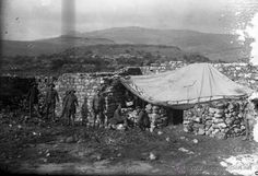 NEGATIVO DE MILITARES EN LA GUERRA DEL RIF MARRUECOS 1910