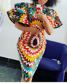 Nigerian Dress Styles, Ankara Short Gown Styles, Short African Dresses, African Inspired Fashion, Latest African Fashion Dresses, African Print Dresses, African Print Fashion, African Print Dress Designs, African Print Clothing