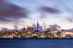 Beautiful at night! Auckland, New Zealand