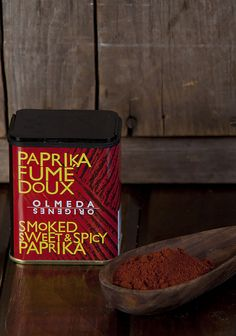 Olmeda Sweet & Spicy Paprika Spanish Food, Sweet And Spicy, Spices, Stuffed Peppers, Hot, Foods, Kitchens, Spain, Red Peppers