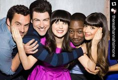 #NewGirl #Regram  @therealhannahsimone  YO WE ARE BACK! Tuesdays makeover begins Jan. 5 when New Girl opens its season in a new 8 p.m. timeslot. It will be followed by Grandfathered at 8:30 Brooklyn Nine-Nine at a new night at time at 9 and The Grinder at 9:30. #powerquad #45moresleeps #foxylineup #sexytime #tagtheweirdoswholoveusweirdos