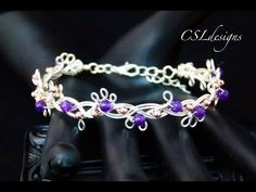 In this tutorial I show you how to make an organic braided wirework bracelet embellished with beads. Please feel free to give it a go yourself and I hope you...