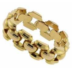 1940s 18k Yellow Gold Bracelet