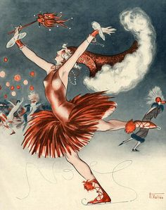 Illustration by Armand Vallee For La Vie Parisienne 1924