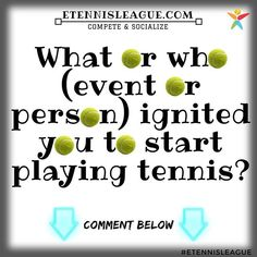 We love to evoke memories in December! What is it that made you start playing tennis? ⠀ #tennis #etennisleague #etennisleaguenation #tennisplayer #tennislover #tennisman #tennisgirl #memories #tennislife