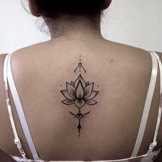 • Flor de loto, muchas gracias por la confianza . #tattoo #tatt #tatuaje #tatua...