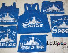 bachelorette party shirts bridesmaid shirts bridal party tank