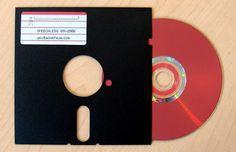 floppy disk cd holders