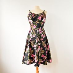 60s Deweese Floral Sundress