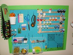 AMAZING sewing room and organization tips! Description from pinterest.com. I searched for this on bing.com/images