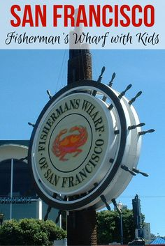 Fisherman's Wharf is usually one of the first stops for visitors to San Francisco, California. Find top picks for things to do with kids in the wharf and along Pier Our family with a year-old visited the Fisherman's Wharf. San Francisco Wharf, San Francisco Travel, San Francisco California, San Diego, California With Kids, California Vacation, Visit California, Northern California, California Living
