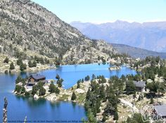 The Aigüestortes and Lake Sant-Maurici Pool. (Lleida Pyrenees-Spain)