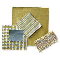 How To Mix and Match Fabrics | Spring Greens | SouthernLiving.com