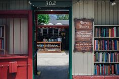 30 Most Beautiful Bookshops Around The World   6. Bart's bookstore, Ojai, California Overwhelmed with his collection of books, Richard Bartinsdale built a collection of bookcases in 1964 by a California sidewalk so that passers-by could browse through them. Today Bart's is the largest outdoor bookstore in the world. Not only that, it boasts of an extensive collection of rare books.