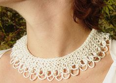 Knit and Crochet Jewelry Free Patterns                                                                                                                                                                                 More