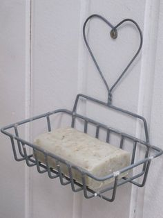 Zinc wire soap holder...