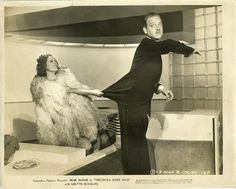 a still that says 'screwball': Irene Dunne and Melvyn Douglas in 'Theodora Goes Wild'