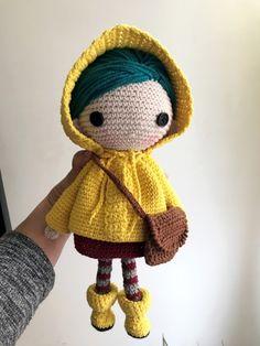 Softie Pattern, Crochet Doll Pattern, Crochet Patterns Amigurumi, Amigurumi Doll, Knitted Dolls, Crochet Dolls, Coraline Doll, Coraline Jones, Crochet Keychain