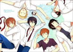 Daily Lives of Highschool Boys #anime