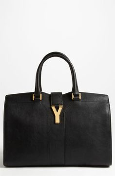 MERRY CHRISTMAS TO ME!! Clearly, I was a very good girl this year!! ;o) Saint Laurent Paris 'Cabas Classique' Leather Satchel available at #Nordstrom