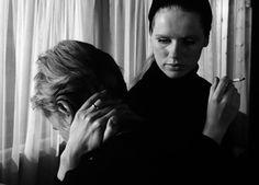 Liv Ullmann and Bibi Andersson in Persona