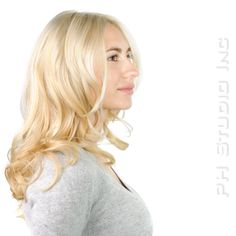 Taking from Brunette into new Blonde Bombshell and she's almost unrecognizable.  Haircut/Style & Color: Kristina Puckorius  Products: Aquage Uplifting Foam, Beyond Body Sealing Spray & Aquage Transforming Paste Lite.