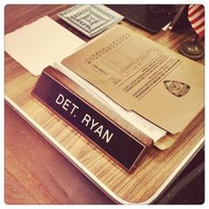 Ryan's desk. This picture makes me happy.