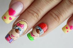 Decoración de uñas Pelanas2-2 Pedicure, Diy And Crafts, Nail Art, Nails, Beauty, Cami, Work Nails, Dress, Templates