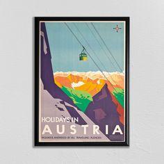 Excited to share the latest addition to my #etsy shop: Skiing Poster, Swiss Travel Art, Austria Ski Poster, Sports Retro Decor, Retro Print, Suisse, Europe European Travel, Zermatt, Skiing Poster https://etsy.me/2wsYA7q #art #print #digital #prints #swisstravelposter #
