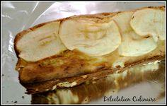 Cake aux pommes sans lait, sans beurre au sucre de coco ...