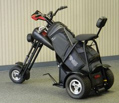"Chopped Golf ""Cart""   A good golfers cart."