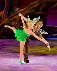 <3 TinkerBell and Terence on ice! <3