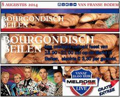 Bourgondisch Beilen, 8 augustus met EEN GRATIS OPTREDEN VAN MELROSE ON TOUR! Bourgondisch Beilen wordt voor de 3de keer georganiseerd op de Markt in Beilen. Het beloofd weer een groot spektakel te worden met dit jaar als thema Frankrijk. http://koopplein.nl/middendrenthe/1628010/bourgondisch-beilen-8-augustus-2014.html